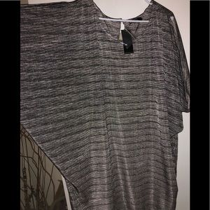 Batwing tunic top. NWT